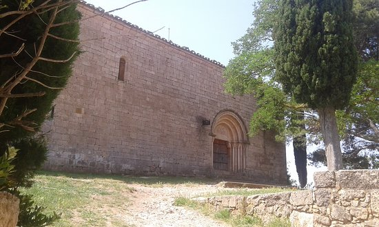 Siurana, España: esglesia