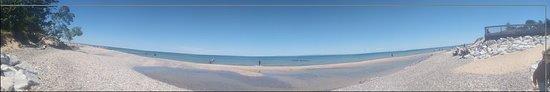 Paradise, MI: Panarama from Whitefish Point beach