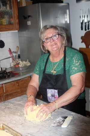Travel Langhe  Wine Tours: Suzanne making gnocchi