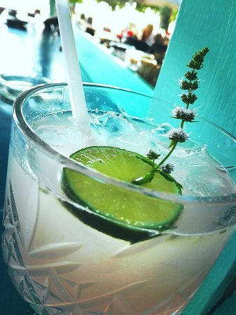 Afissos, Greece: Try our Little Star Cocktail with Gin, fresh grapefruit and bitters!