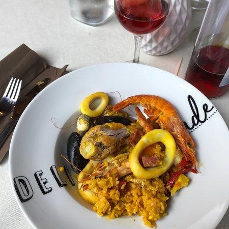 Fongrave, Γαλλία: Paella!