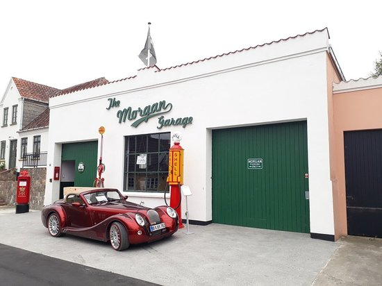 Samsoe, Denmark: The Morgan Garage