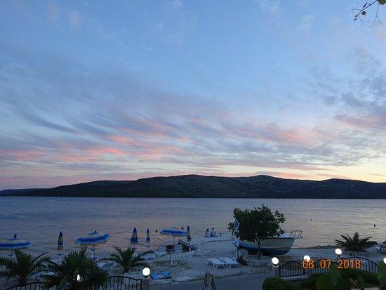 Seget Vranjica, Croacia: The view