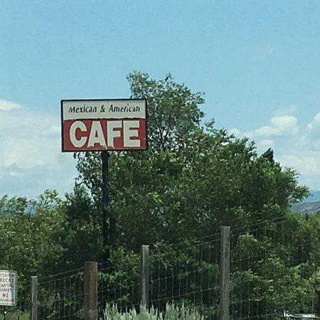 Gypsum, CO: Sign.