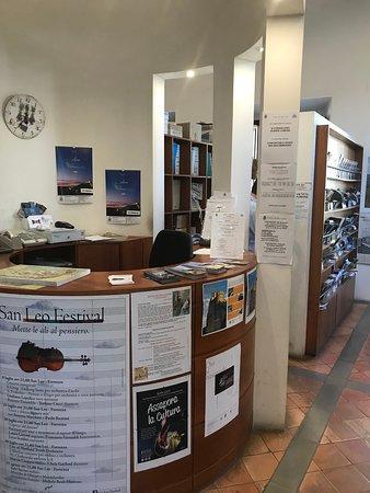San Leo, Italia: Interni