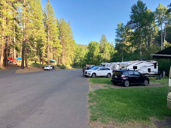 Goldendale, WA: Some of the RV campsites