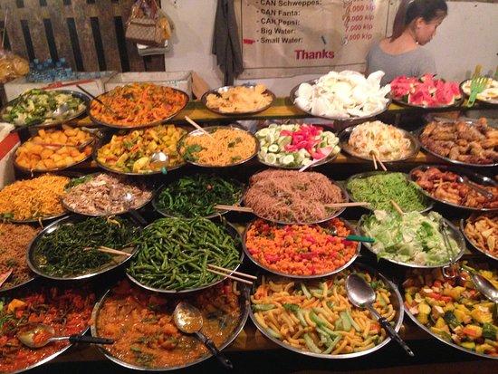 Vegetarian Buffet: Food Market