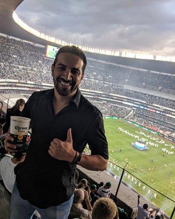 Estadio Azteca: Pedro Grilo