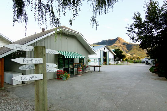 Salmon Arm, Canadá: Visit the Farm!