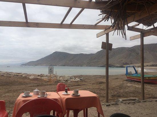 Chanaral, Chile: Restauran en Caleta de pescadores
