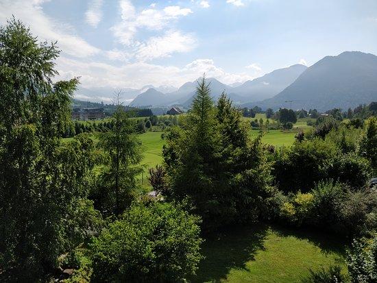 Bad Aussee, Austria: Blick aus dem Zimmer