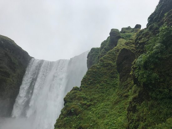 BusTravel Iceland: The first stop! Skofagoss. Don't climb to the top– takes too long, coolest shots are from below.