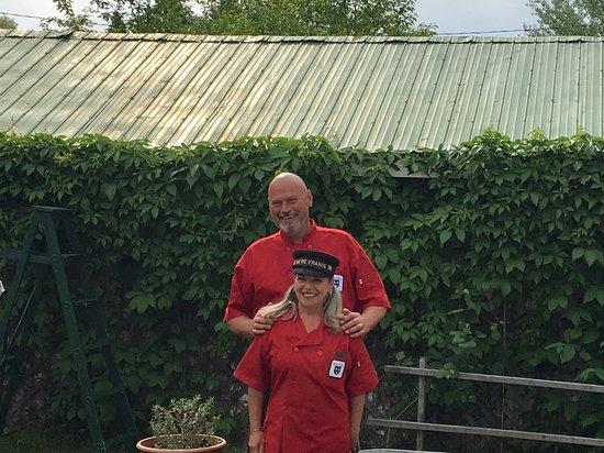 Nominingue, Canada : Heiko and Nancy