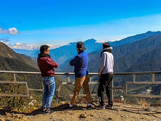 Santa Teresa, Perù: Mirador del abra malaga
