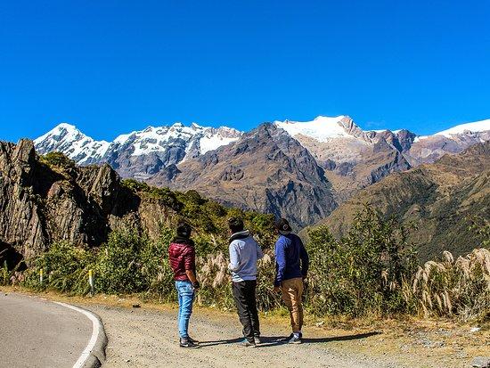 Nevado veronica, camino a Santa Teresa