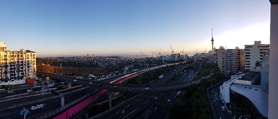 A night in Auckland
