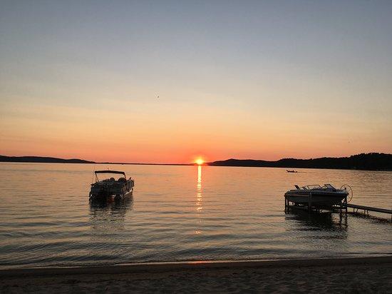 Beulah, ميتشجان: Beautiful Sunset
