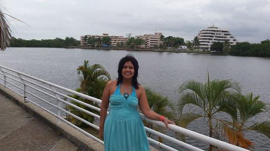 San Jose de Rio Chico, Venezuela: Laguna de Tacarigua al fondo