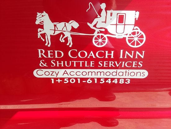 Bullet Tree Falls, Belize: Red Coach Shuttle Services