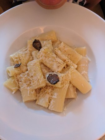 Palácio Chiado: Rigatoni with truffles and parmesan