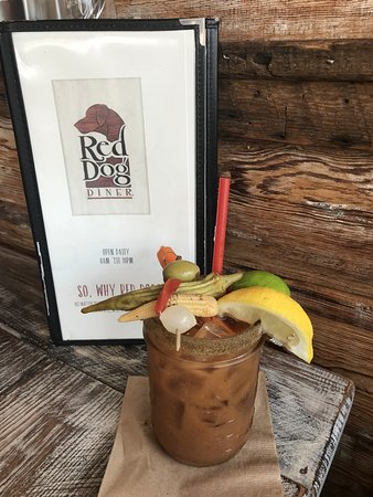 HAIR OF THE RED DOG BLOODY MARY