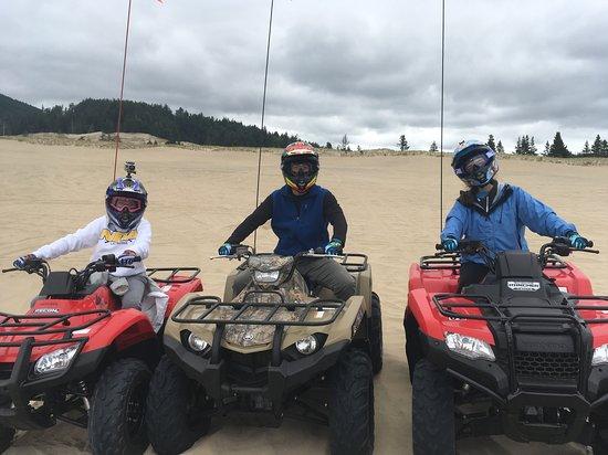 Cloverdale, OR: ATV's on the sand dunes