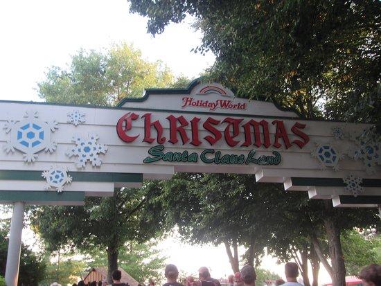 Christmas Land.Christmas Land Picture Of Holiday World Splashin Safari