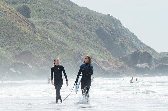 Private Surf Lessons på Stinson Beach...