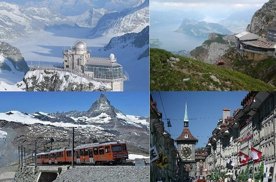 best Swiss package tour: 4 days with...