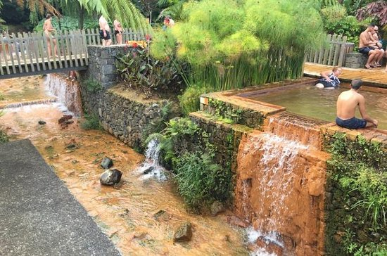 Visite nocturne de Furnas - Bains thermaux et bains thermaux de...