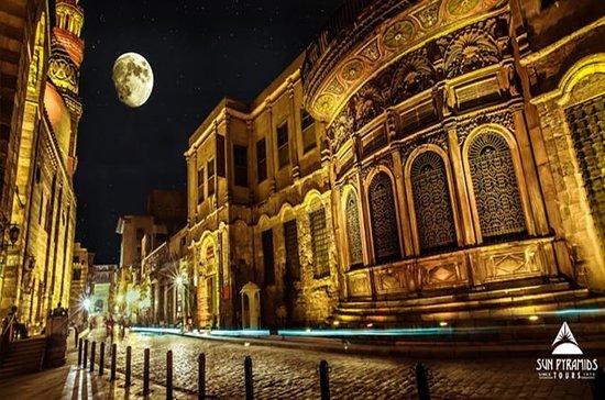 El-Moez Street und Kairo Turm mit...