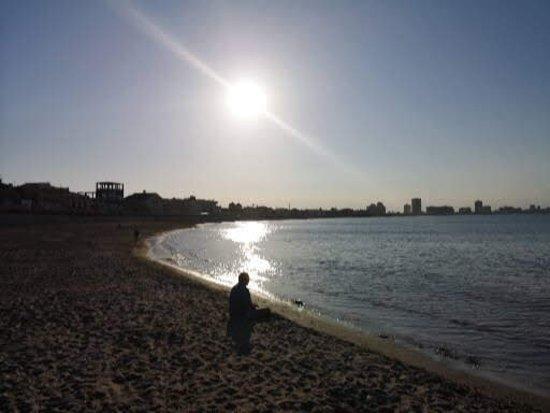 Cabo de Palos, إسبانيا: Playa