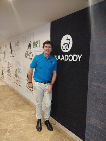 Naadody Welcomes Mr Brad Hogg- Former Australian Spin Bowler
