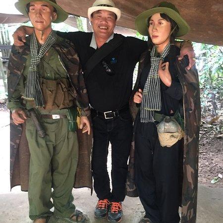 Halve dag kleine groep Cu Chi tunnels-tour vanuit Ho Chi Minh-stad Foto
