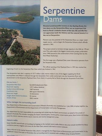 Serpentine, Australia: Description banner - Part 1