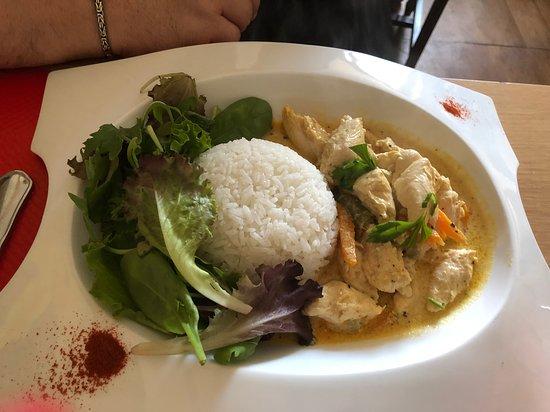 Auberge de L'Oree des Bois: Curry de poulet