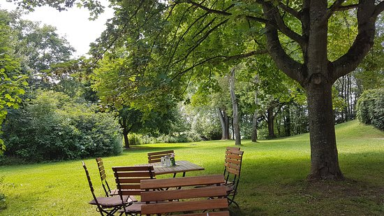 Cafe Botanika: Schöner Garten