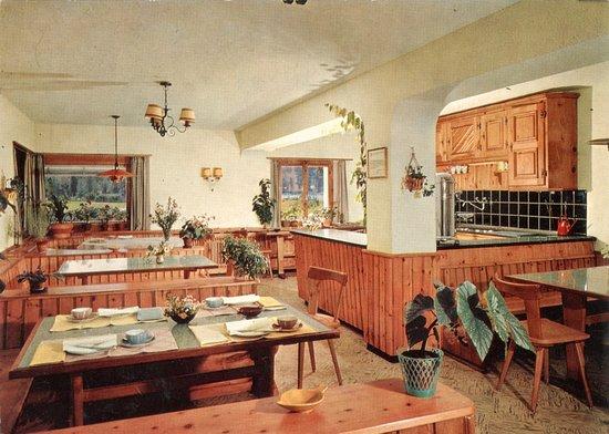 Sils-Segl Maria, สวิตเซอร์แลนด์: Unser Restaurant im Jahr 1961...