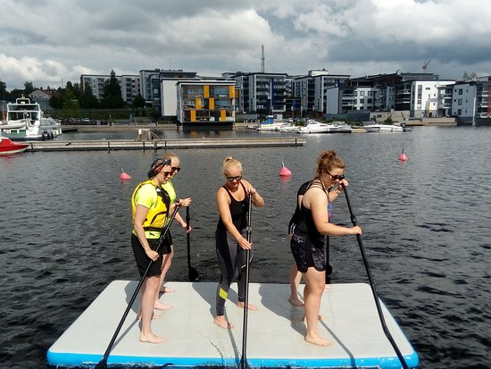 Kuopio Water Sports Centre: Lets work as a team
