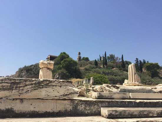 Elefsina, Greece: The ancient entrance to the site