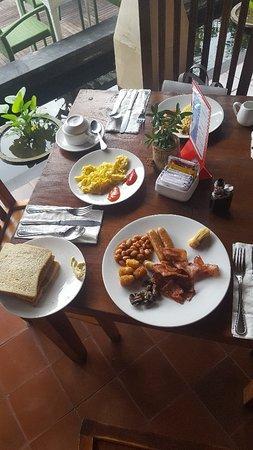 Chambre double vue sur piscine & breakfast