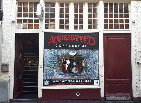 Coffeeshop Amsterdamned
