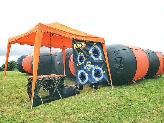 Shrewsbury, UK: Mobile arena for event and party hire