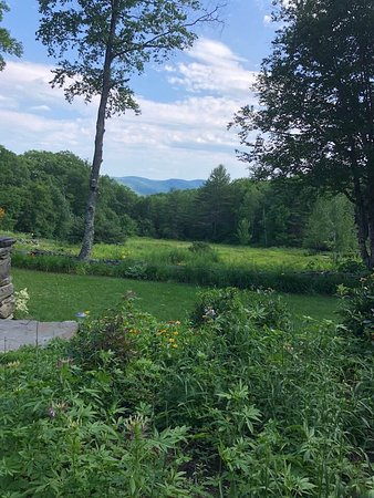 Newfane, VT: Patio view