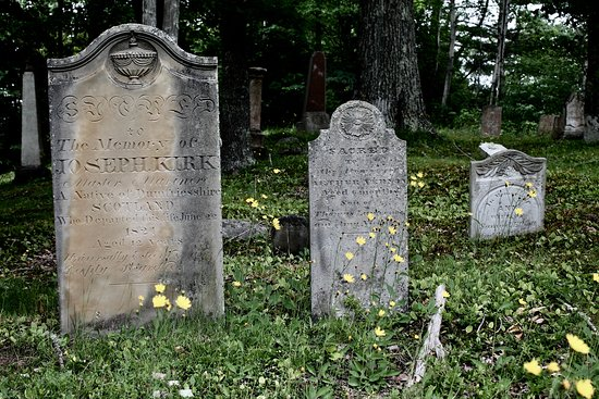 St. George, Canada: First Community Cemetery