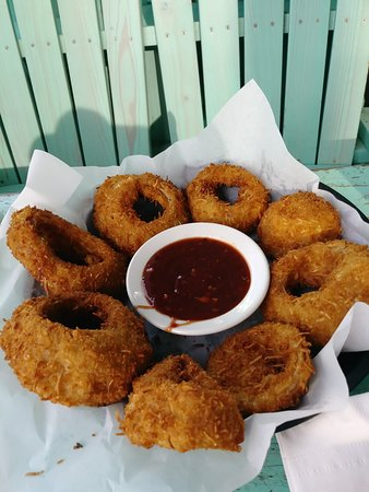Nervous Nellie's Ft Myers Beach: Onion rings