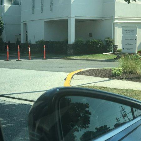 Нью-Кэрроллтон, Мэриленд: entrance to go to the shopping side