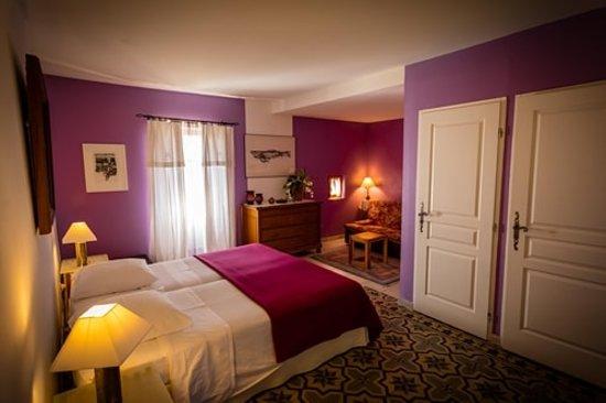 """Aubussargues, França: La chambre """"Gardon"""""""