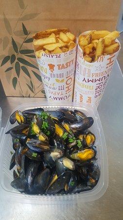 La Mano Negra Restaurant: Moules frites à emporter ou sur place noirmoutier restaurant