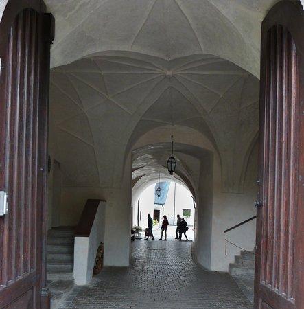 Rozmberk nad Vltavou, Republik Ceko: Vstup do hradu